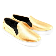 SLIP-ON SNEAKERS S1 - Gold