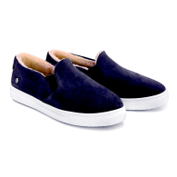 SLIP-ON SNEAKERS SUEDE S1 - Dark Blue