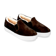 SLIP-ON SNEAKERS SUEDE S1 - Brown