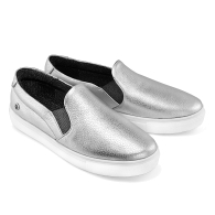 SLIP-ON SNEAKERS S1 - Silver