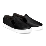 SLIP-ON SNEAKERS FUR S1 - Black