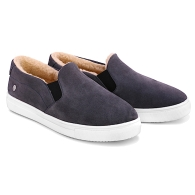 SLIP-ON SNEAKERS SUEDE S1 - Gray