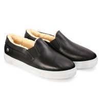 SLIP-ON SNEAKERS SMOOTH S1 - Black