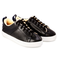 SNEAKERS SMOOTH SN1 - Black