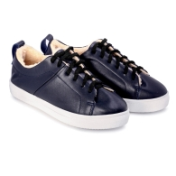 SNEAKERS SMOOTH SN1 - Dark Blue