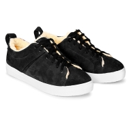 SNEAKERS SUEDE SN1 - Black