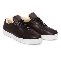 SNEAKERS SMOOTH SN2 - Dark Marsala