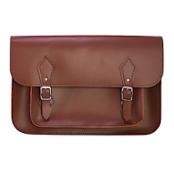 SATCHEL 14 - Brown